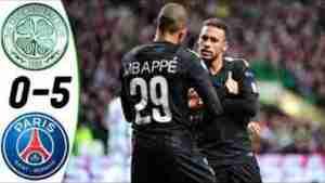 Video: Celtic 0 – 5 Paris Saint Germain [Champions League] Highlights 2017/18
